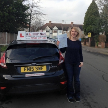 I can highly recommend Sharon as a driving instructor She is kind patient and I really enjoyed learning to drive with her I passed my test first time which was solely down to Sharon's ability to not only give clear manageable instructions but also to help you feel confident and positive about the whole process